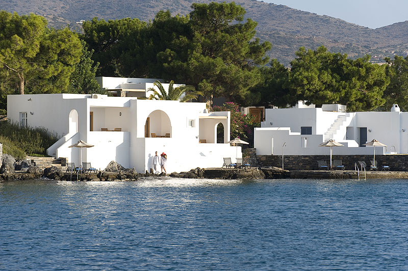 Minos Beach Art Hotel Seafront Bungalow