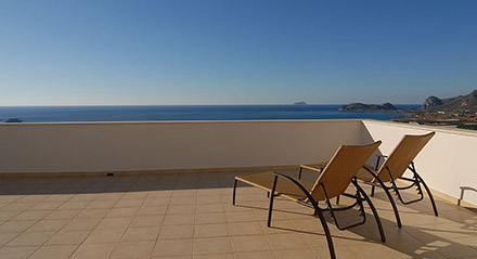 Kreta: Falassarna Sea View Apartments