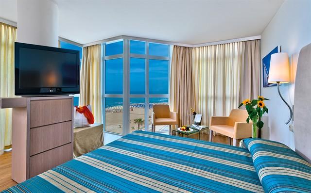 Kreta Rethymnon Hotel Kriti Beach