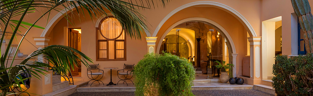 City Hotels in the Old Towns of Chania, Rethymnon & Heraklion