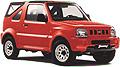 Mietwagen auf Kreta Typ: Suzuki Jimmy offen